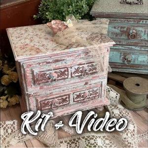 Curso Caja Romantica CON Kit